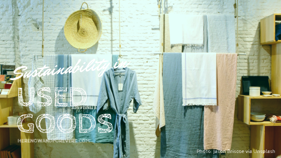 Sustainability in used goods